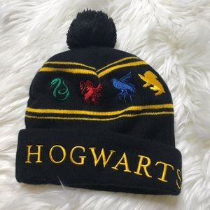 Hogwarts Harry Potter Embroidered Winter Hat